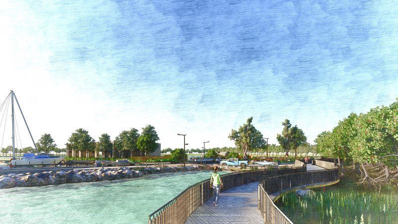 Weinam Creek redevelopment announcement
