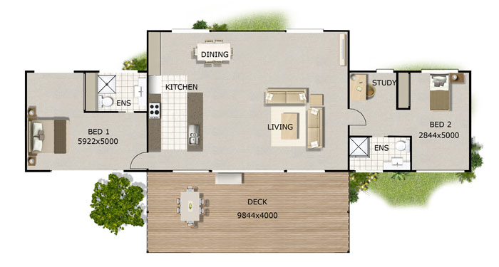 Kit home designs floor plans for 3 bedroom ensuite house plans