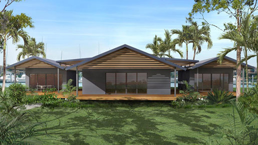Kit homes australia wide queensland brisbane sydney Pavilion style house plans